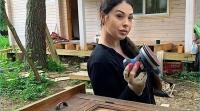 Выяснилось, что Инна Воловичева занялась реставрацией мебели