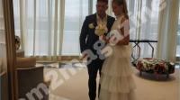Первые фотографии свадьбы участников телепроекта Марины Африкантовой и Романа Капаклы