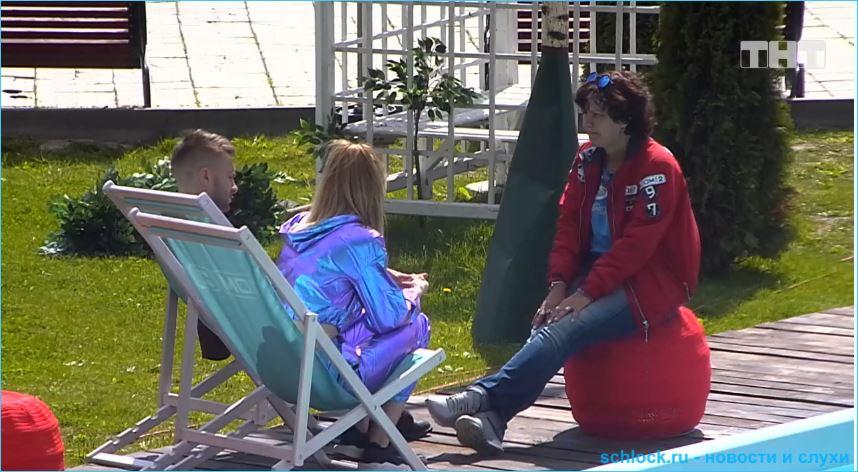Милена Безбородова довольна визитом мамы Безуса на Дом 2