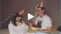 Стало известно, что бывшие участники дома 2 Кузин и Артемова отметили 1 месяц своей дочери