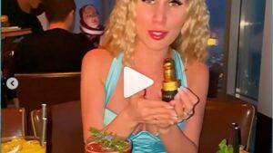 Видео бывших участников дома 2 на шлоке Райсон и Шабарин посетили ресторан на 123 этаже в Дубае