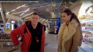 Видео бывших участников дома 2 на шлоке - Барзиков с тремя подругами отдыхает на Алтае
